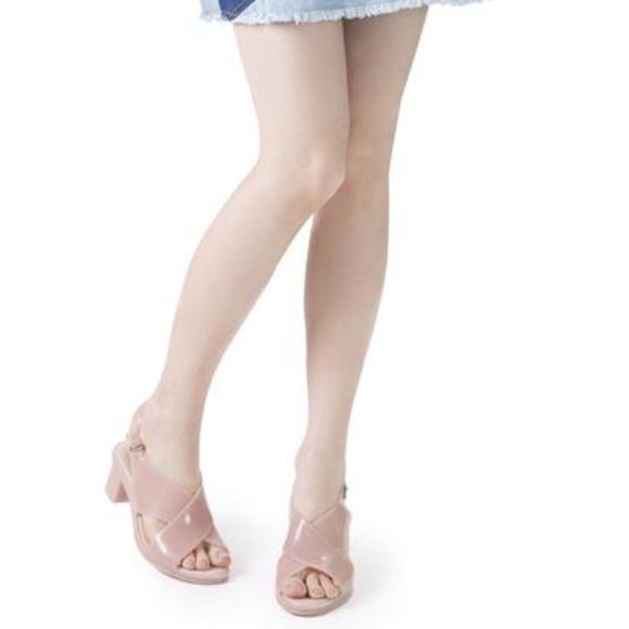 503556763f7 Melissa Jamie + Jason Wu Light pink heels